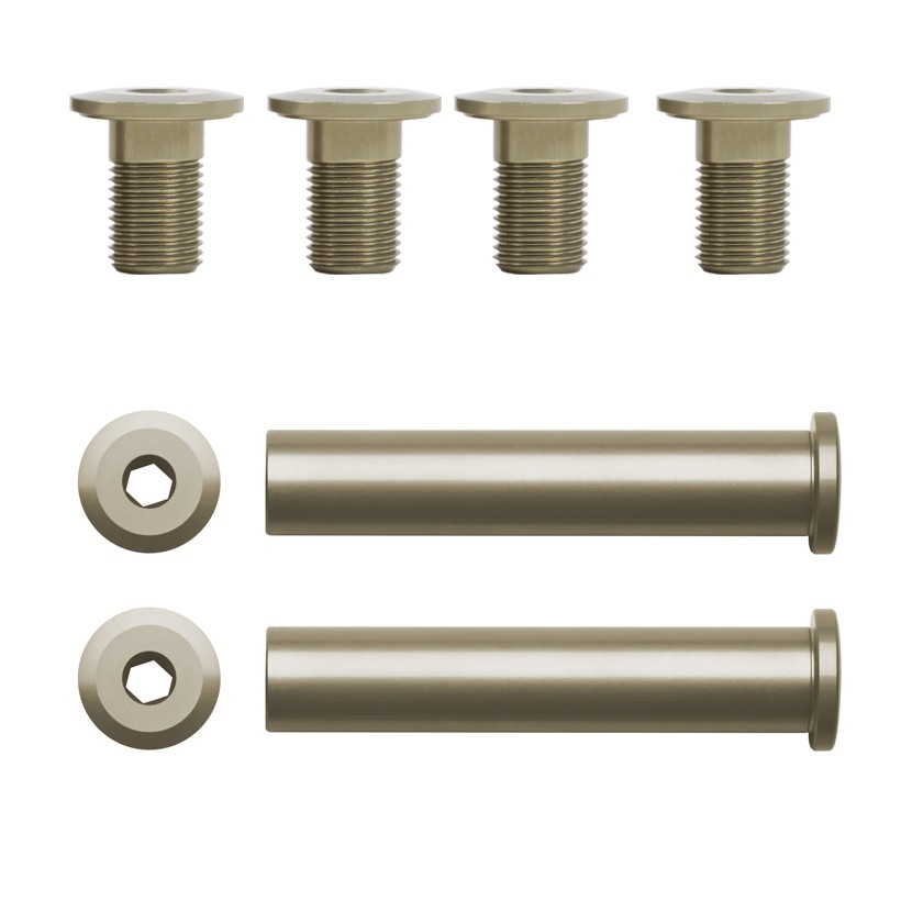 HD4 Bolt Hardware (See the length of the shaft is the same for upper and lower)