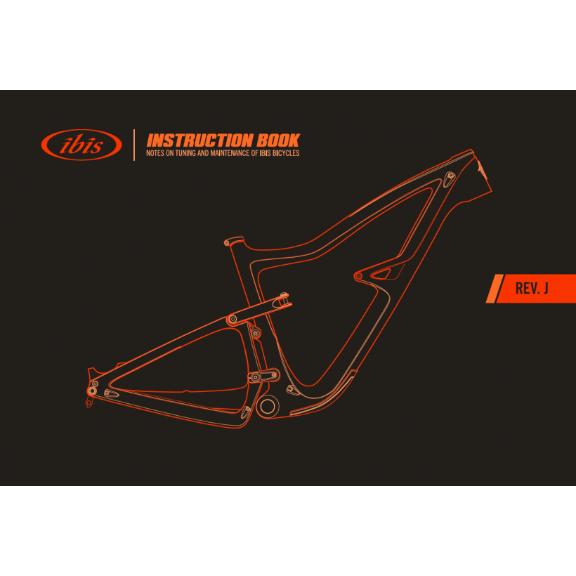 Ibis Cycles Owners Manual