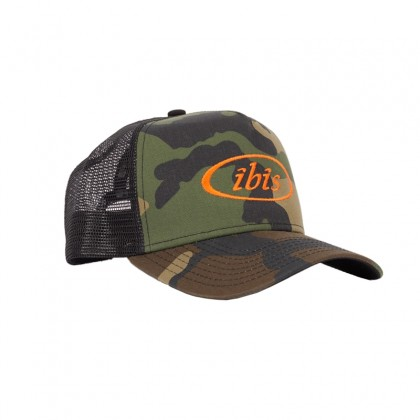Trucker Hat Camo / Orange