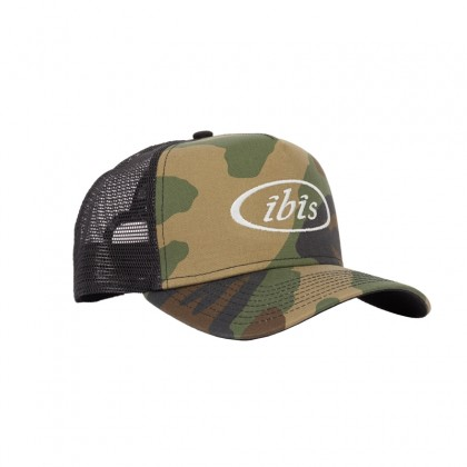 Trucker Hat Camo / Bone