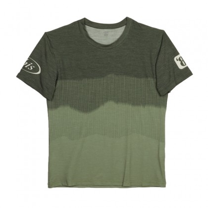 Merino Blend Technical Tee -  Forest Fade