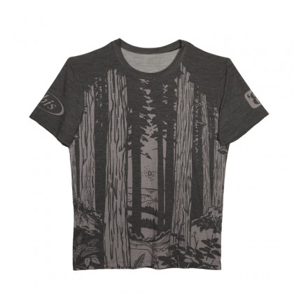 Merino Blend Technical Tee -  Trees