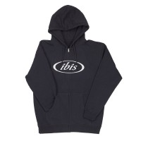 Hoody - Logo Zip - Navy with Bone Logo image 1