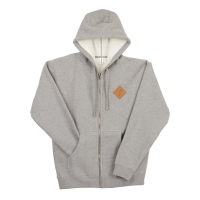 Zip Hoodie - Ibis Leather Patch image 1